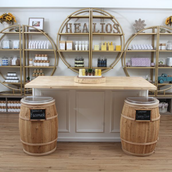Healios CBD Instore display
